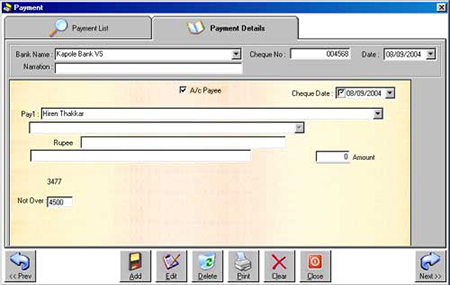 Cheque Printing Software 6 6 Cts 2010 Bank Cheque Format Free
