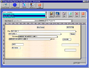 Free Download the cheque Printing Software